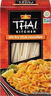 Thai Kitchen Gluten Free Stir Fry Rice Noodles, 14 oz (Pack of 6)