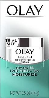Olay Regenerist Luminous Tone Perfecting Cream, 0.5 Ounce, Packaging May Vary
