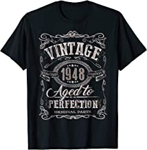 71st Birthday gift shirt Vintage dude 1948 71 year old shirt