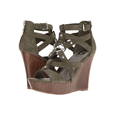 G by GUESS Dodge (Olive) Women