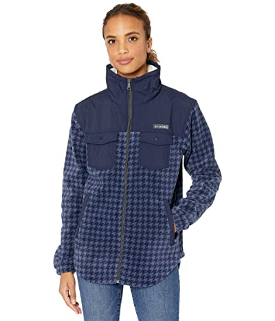 Columbia Benton Springstm Overlay Fleece (Dark Nocturnal Houndstooth) Women