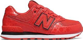 (ニューバランス) New Balance 靴?シューズ キッズランニング 574 Disney Red with Black レッド ブラック US 2.5 (20.5-21cm)