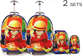 Kids'School bag trolley Rolling travel bag ONE PIECE set of 3 17inch 3-12years olds,2 SETS