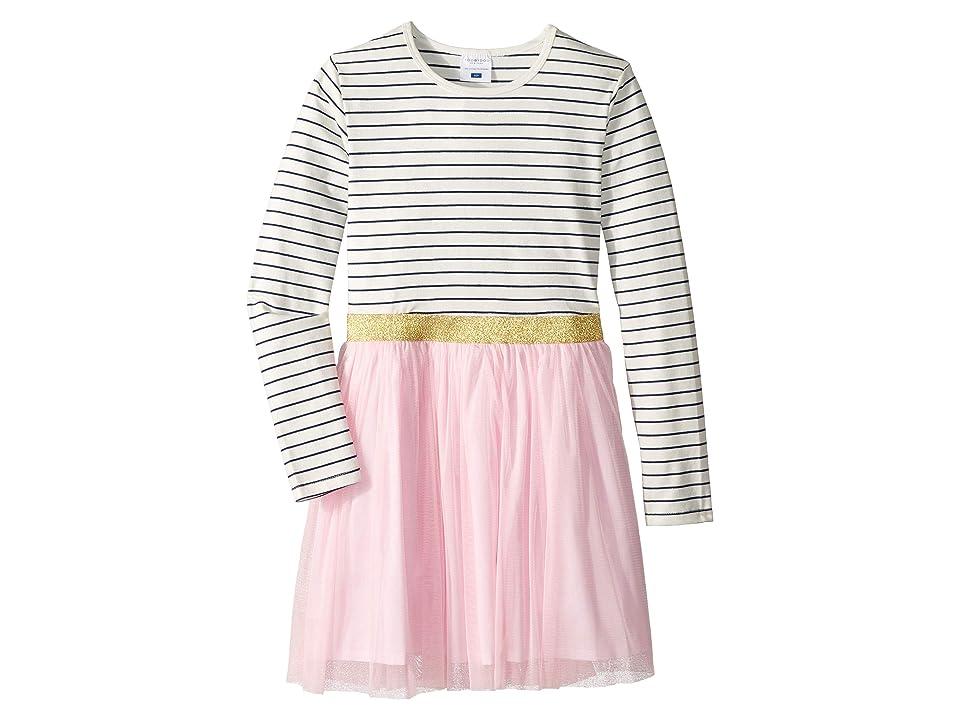 Toobydoo Tulle Skirt Party Dress (Toddler/Little Kids/Big Kids) (Pink) Girl