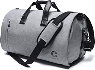 Convertible Garment Bag with Shoulder Strap Carry on Garment Duffel Bag for Men Women - 2 in 1 Hanging Suitcase Suit Travel Bags