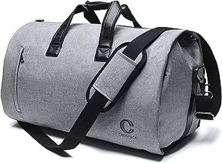 45L Suit Garment Bag Shoulder Strap Duffle Travel Foldable Flight Bag
