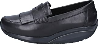 MBT Moccasins Womens Leather Black