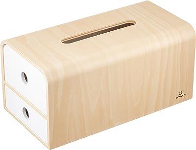 ヤマト工芸 STOCK tissue Wh サイズ:約W28 D14.5 H13.5 YK14-108