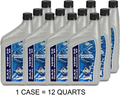 discount Honda new arrival Marine 08207-10W30MFC-W Genuine 4-Stroke SAW 10W-30 Motor Oil 2021 (Case of 12 Quarts ) outlet sale