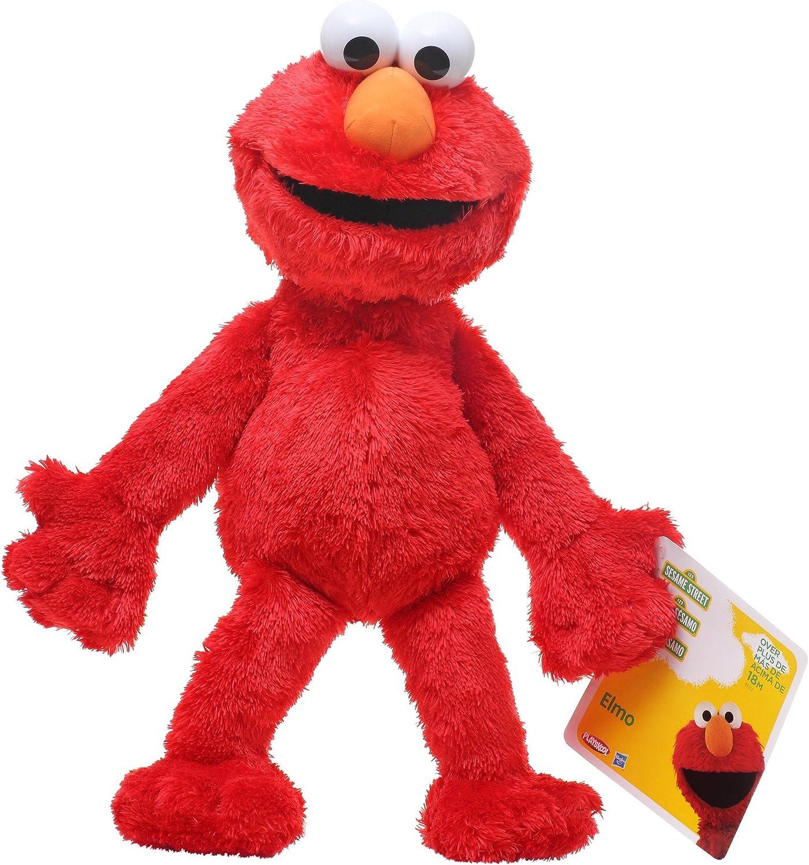 Topics on TV Sesame Max 61% OFF Street Playskool Plush Jumbo Elmo