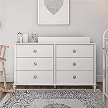 Little Seeds Rowan Valley Arden 6 Drawer White Changing Dresser