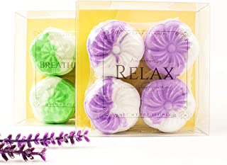 Shower Steamers Eucalyptus Lavender Essential Oil and Menthol Aromatherapy Congestion and Relaxation