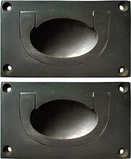 Nesha Antique Style Recessed Pulls 2 Pack