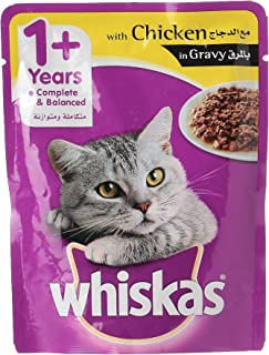 Whiskas In Gravy with Chicken Cat Food, 85 g