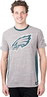 NFL Men's T Vintage Ringer Short Sleeve Tee Shirt