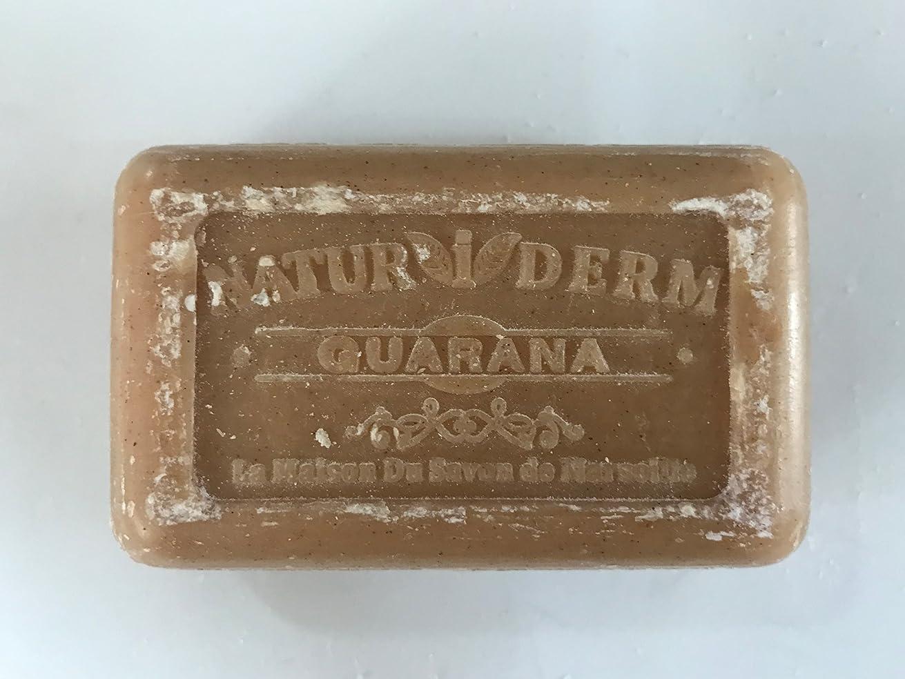 プレビュー持参幾分Savon de Marseille Naturiderm Soap Guarana 125g