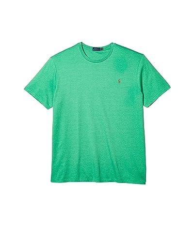 Polo Ralph Lauren Big & Tall Big Tall Short Sleeve Soft Touch T-Shirt (Palm Green Heather) Men