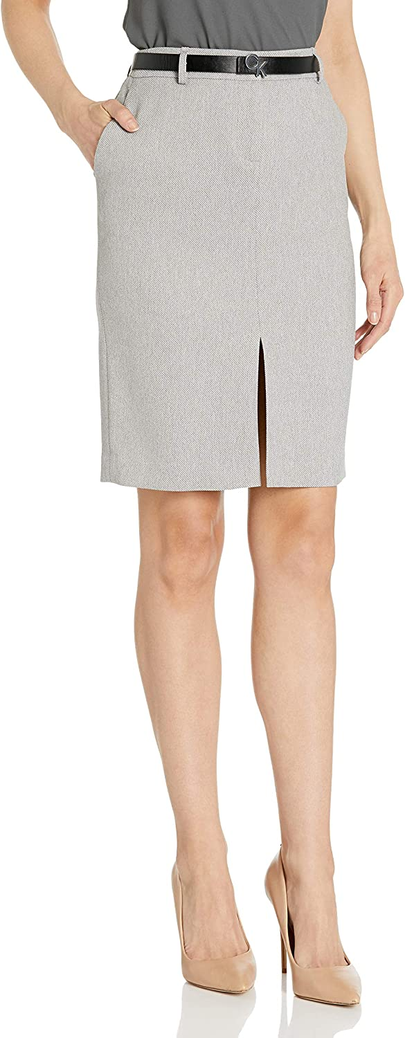 Calvin Low price Klein Women's Pant Belted Outlet ☆ Free Shipping