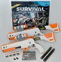 PS3 Cabela's Survival Shadows of Katmai GAME + 2 GUNS Bundle top shot elite
