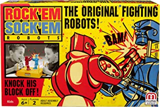 Mattel Games Rock 'Em Sock 'Em Robots Game