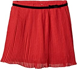 Pleated Chiffon Skirt (Toddler/Little Kids)