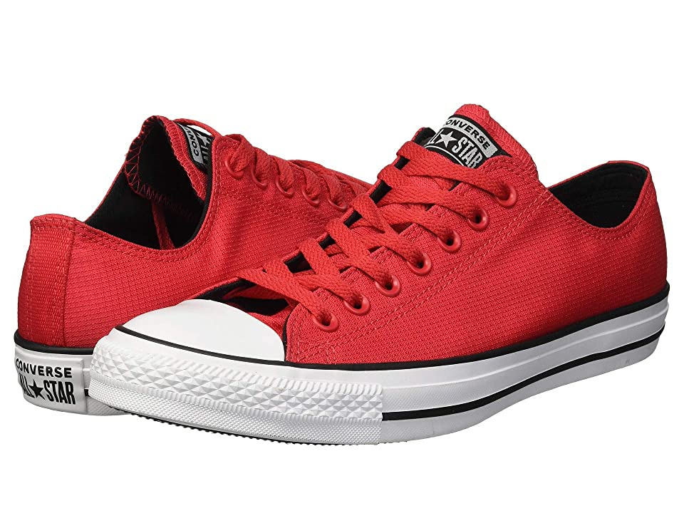 ce658e0f7ad2f9 Converse Chuck Taylor All Star Lightweight Nylon Ox (Cherry Red Black White)  Men s Lace up casual Shoes