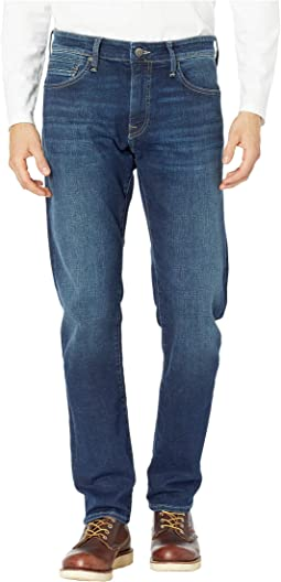 Zach Mid-Rise Straight Leg in Deep Brushed Cashmere