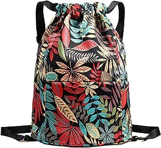 MaoXinTek Kordelzug Turnbeutel Unisex Sportbeutel mit Wasserdicht Tasche Schultasche Reisetasche für Schwimmen Yoga und Reisen