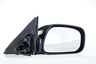 Dependable Direct Right Passenger Side Unpainted Power Operated Non-Heated Non-Folding Door Mirror for USA Built Toyota Camry (2002 2003 2004 2005 2006) - TO1321167