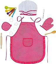 Amazon.es: delantal y gorro cocina para niños