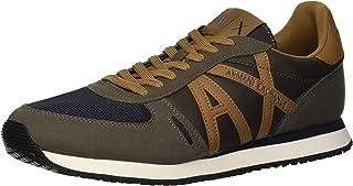 A|X Armani Exchange Men's Retro Running Sneaker