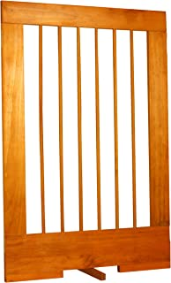Cardinal Gates 4-Panel Tall Pet Gate Extension, Oak