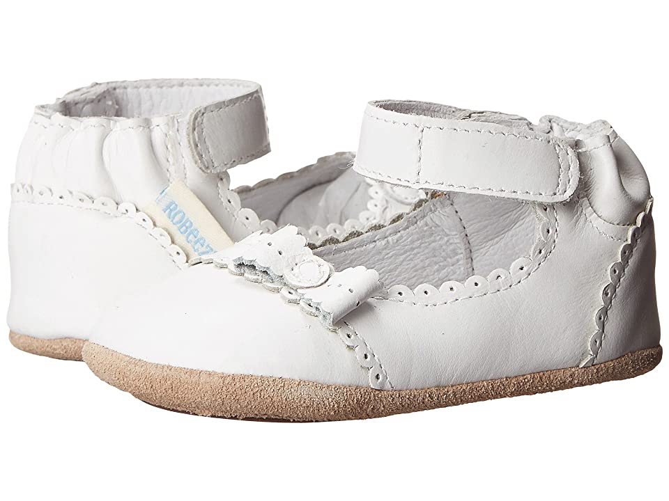 Robeez Catherine Mini Shoez (Infant/Toddler) (White) Girl