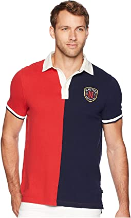 Short Sleeve Split Polo