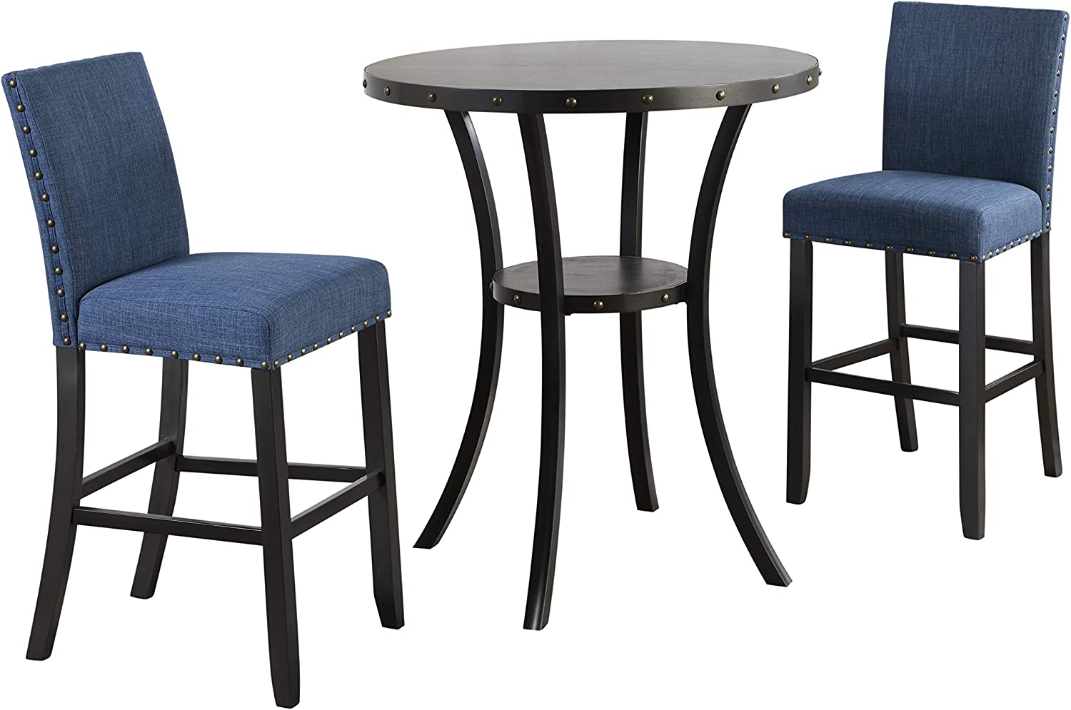New Classic Furniture Crispin Bar Marine Two Chairs Now free shipping favorite Table with