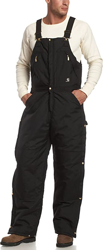 Amazon.com: Carhartt Men's Yukon Arctic Quilt Lined Zip to Waist Biberalls R33: Overalls And Coveralls Workwear Apparel: Clothing, Shoes & Jewelry