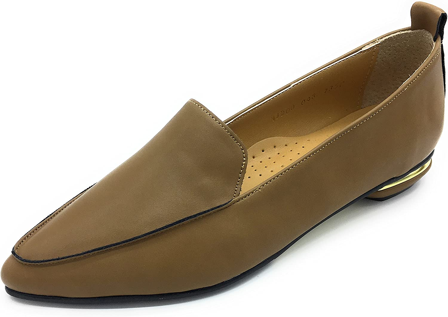 DaVinci Womens Loafer Low-Heel with gold Detailed