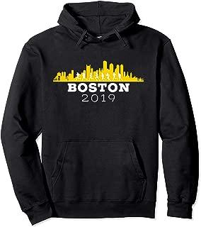 Boston 2019 Skyline Marathon Shirt - Hoodie