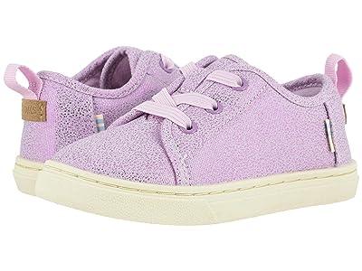 TOMS Kids Lenny Elastic (Toddler/Little Kid) (Lavender Iridescent Droplets) Girl