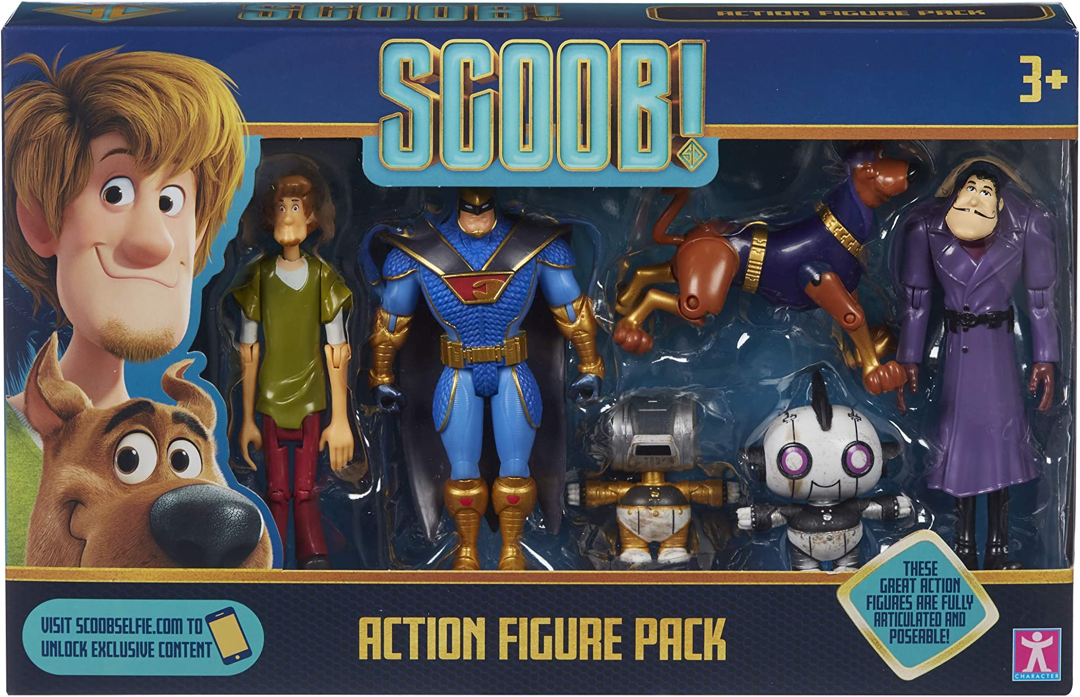 SCOOBY DOO Action Figures 6 Pack 2020 Scooby!