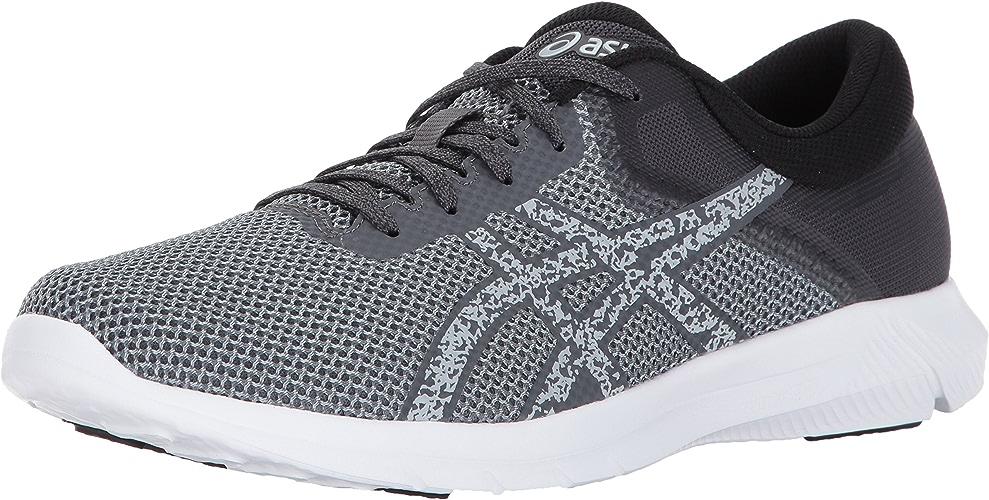 ASICS Men's Nitrofuze 2 Running chaussures, Carbon Glacier gris blanc, 11 Medium US