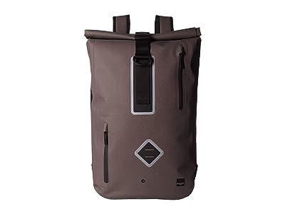 KNOMO London 15 Commuter Water-Resistant Backpack (Khaki) Backpack Bags