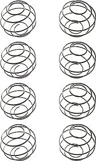 YOFAN 8 Pack Milkshake Protein Shaker Ball,304 Food Grade Stainless Steel Wire Mixer Mixing Ball For Protein Milkshake Shakes (8, Medium)