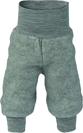 Engel Natur Baby Hose lang mit Nabelbund 100 /% Wolle kbT neu Fleece