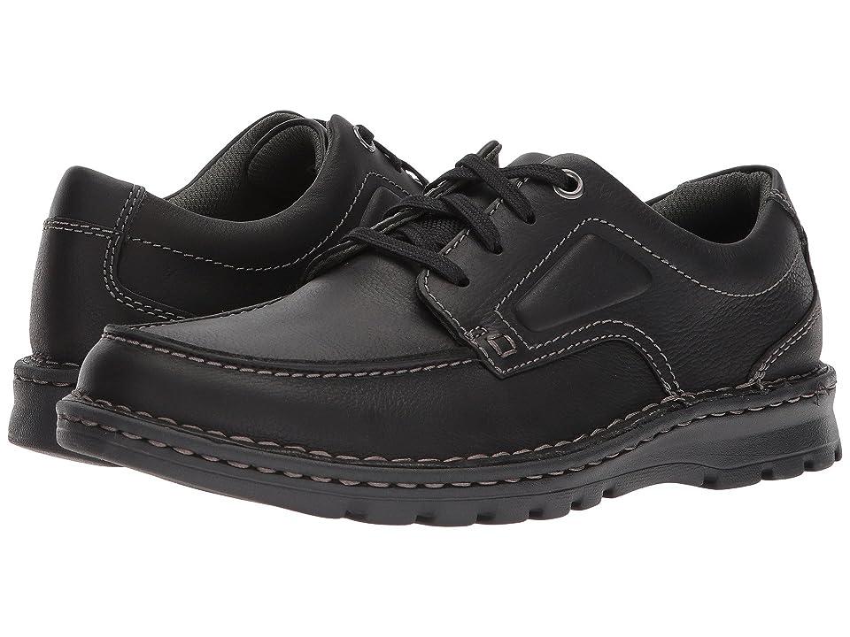Clarks Vanek Apron (Black Oily Leather) Men