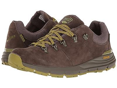 Danner Mountain 600 Low 3 (Dark Brown/Lichen) Men