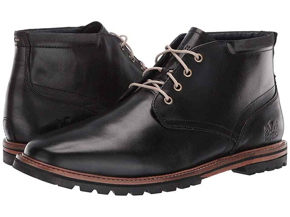 Cole Haan Raymond Grand Chukka Boot (Black Handstain) Men