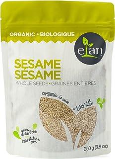 ELAN Organic Whole Sesame Seeds 250 Gram
