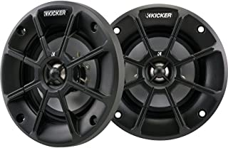 Kicker PS42 (40PS42) 4' 2-Way PS Series 2 Ohm Coaxial Marine Speakers