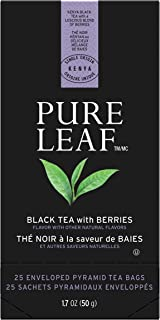 Pure Leaf Hot Black Tea Bags with Berries 25 ct. pack of 6